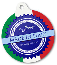 Cartellino NFC di Tag Over