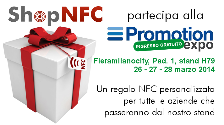 Promotion Expo 2014 - NFC
