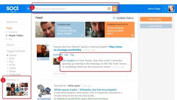 Socl, il social network di Microsoft